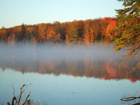 Autumn on Wolf Lake