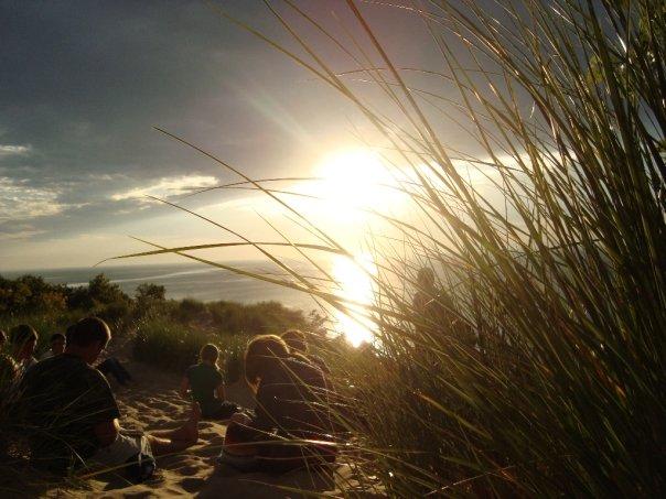 Seeking God at Sunset