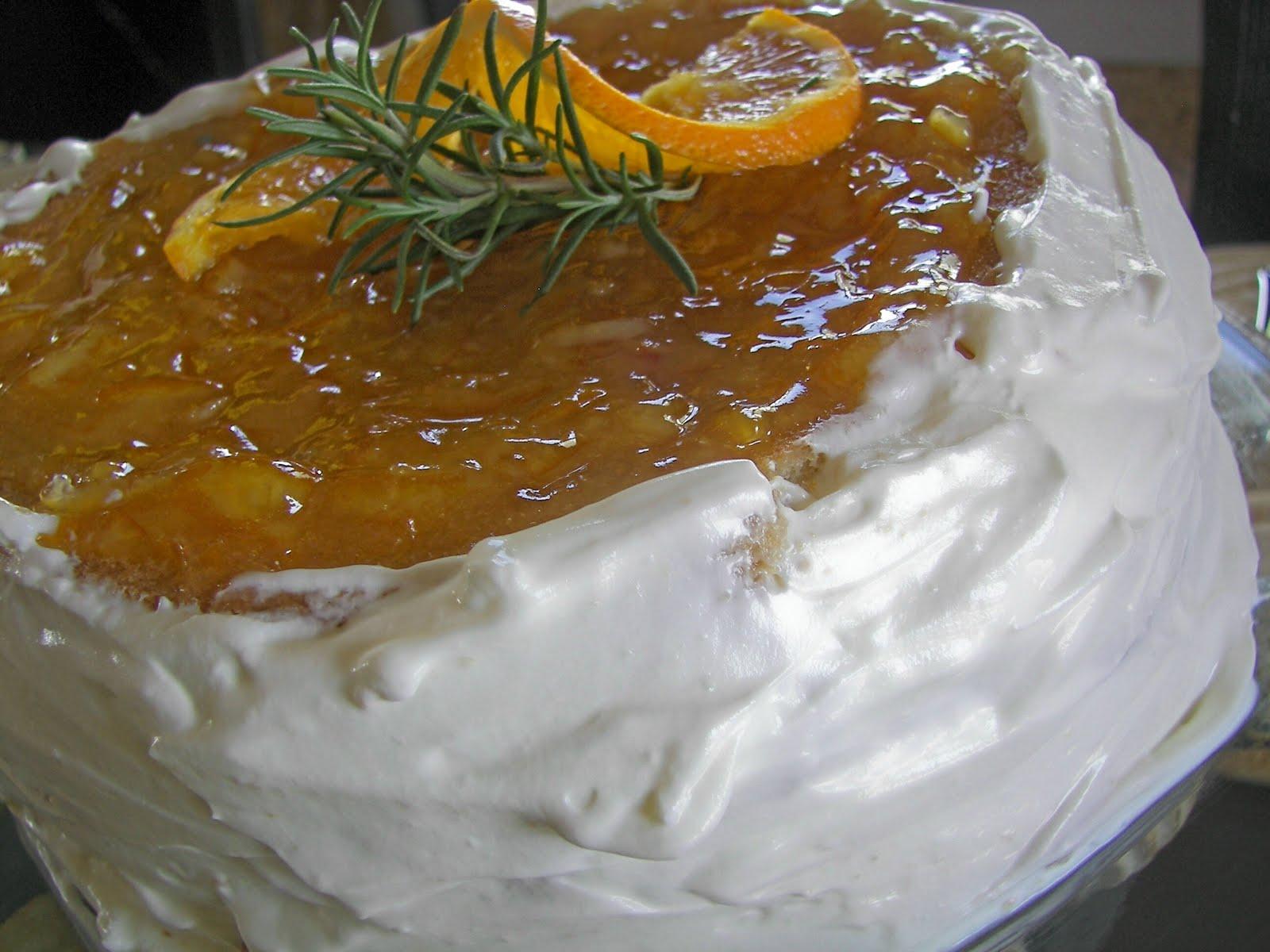 Esther's Orange Marmalade Layer Cake