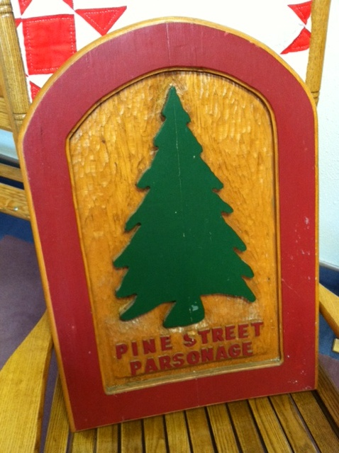Remembering the Pine Street Parsonage