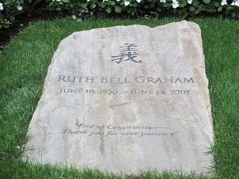 Ruth Graham's Gravestone