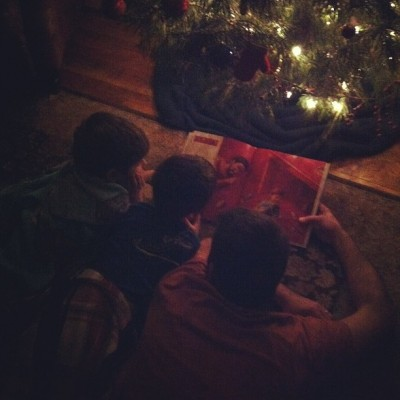 Christmas Grandsons