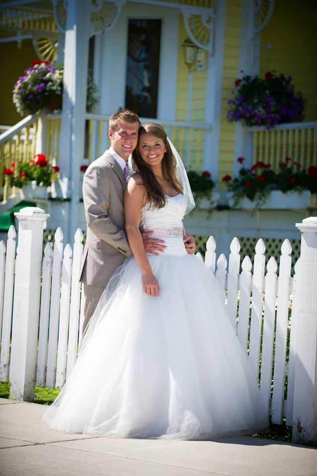 Happy Pictures of Hannah and Dale – Mackinac Island