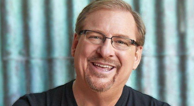 Smiling Rick Warren