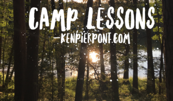 Camp Lesson #3; Consecrate Yourself to God